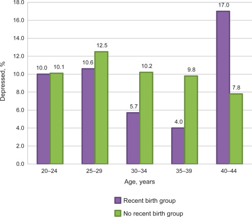 The Association Between Maternal Age and Depression ...
